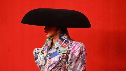 US-Rapperin Cardi B auf der Pariser Fashion Week