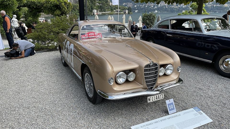 Concorso Alfa Romeo 1900 C Sprint Supergioiello