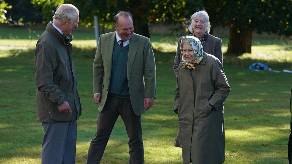 Die Queen macht auch in diesem Jahr Urlaub auf Balmoral