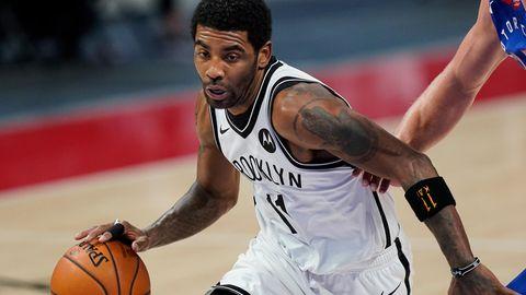 Kyrie Irving von den Brooklyn Nets in Aktion