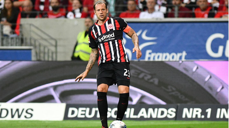 Marco Russ im Trikot von Eintracht Frankfurt