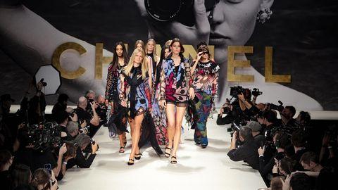 Finale der Chanel-Show auf der Pariser Fashion Week