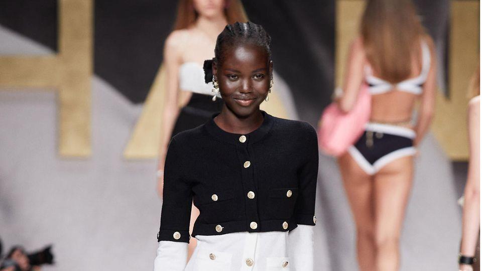 Mode: Die Chanel-Show der Pariser Fashionweek in Bildern