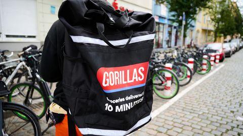 Berlin: Lieferdienst Gorillas entlässt etliche streikende Mitarbeiter