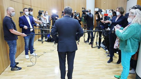 Im Spotlight: Armin Laschet, CDU-Bundesvorsitzender und Kanzlerkandidat der Union