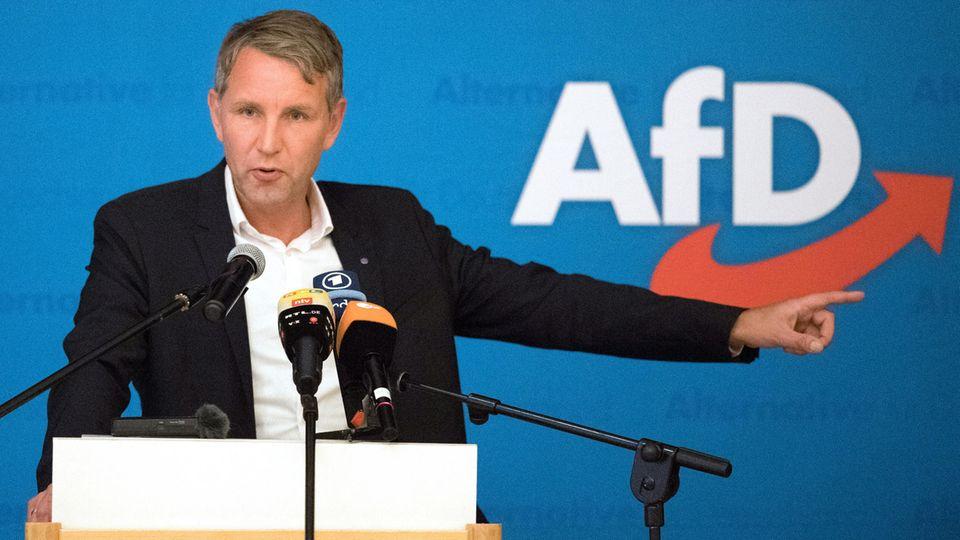 Björn Höcke ist einer der bekanntesten Ost-Politiker derAfD
