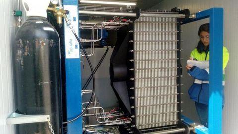 Die komplette Anlage passt in zwei Standardcontainer.