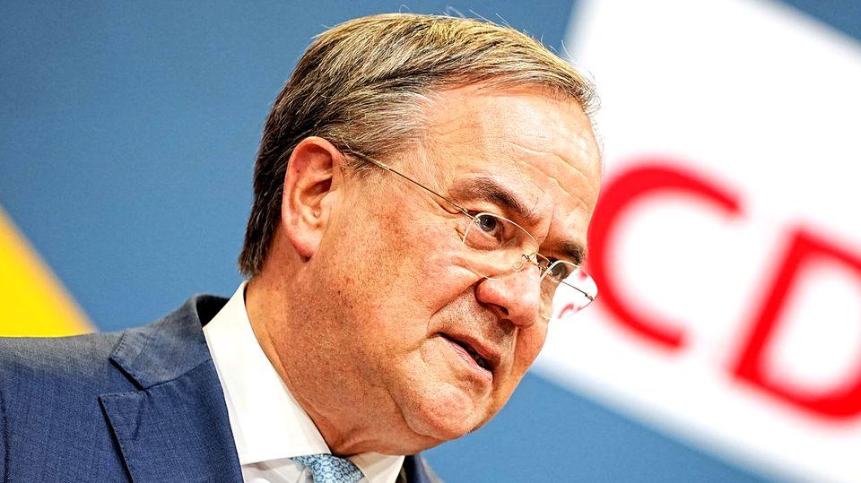 CDU-Vorsitzender Armin Laschet kündigt Rücktritt auf Raten an