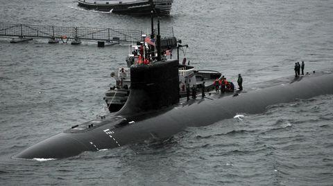 US-Marine: Ungeklärter Zusammenstoß: Atom-U-Boot kollidiert mit unbekanntem Gegenstand