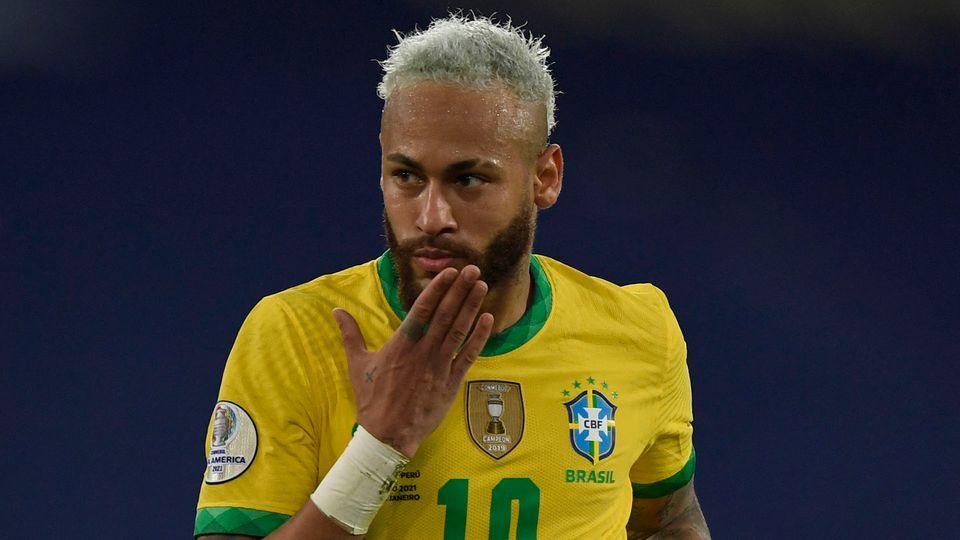 Neymar Brazil 2020-21 Copa America