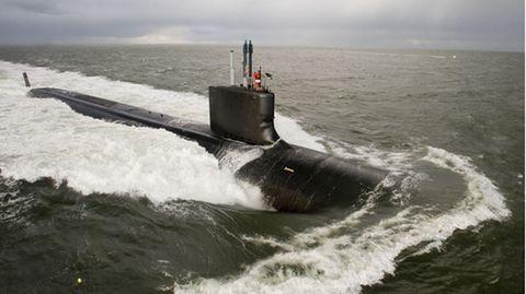 Ein atombetriebenes U-Boot der US Navy