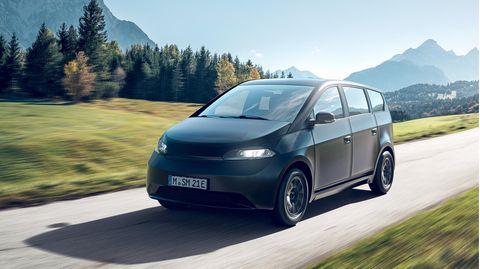 Der Sion, ein Elektroauto mit integriertem Solardach soll 2023 auf den Markt kommen