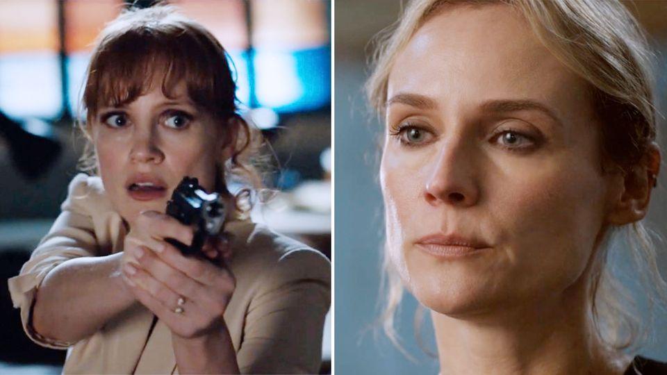 """Diane Kruger und Jessica Chastain im Agententhriller """"The 355"""""""