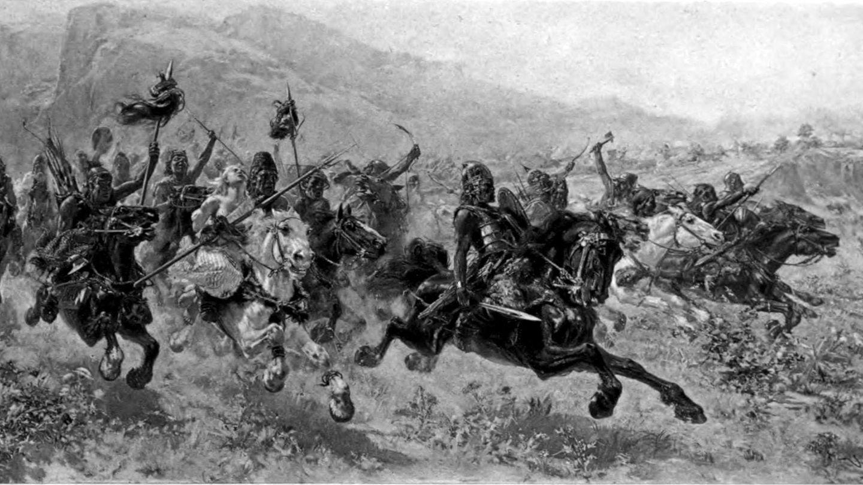 Aëtius gelang es die Hunnen zu schlagen