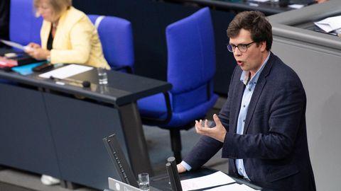 Lukas Köhler im Bundestag