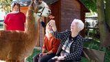 Bei den Bewohner:innen des Seniorenheims war die Freude über die Abwechslung groß.