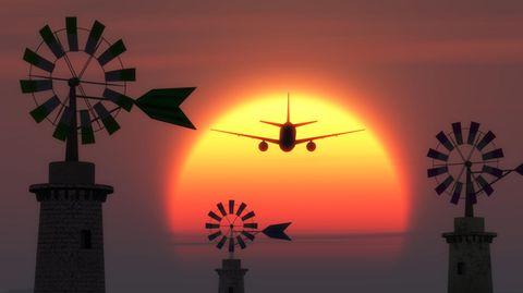 Landeanflug Palma de Mallorca
