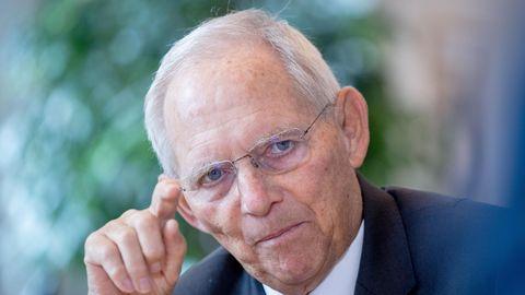 Wolfgang Schäuble (CDU), Bundestagspräsident