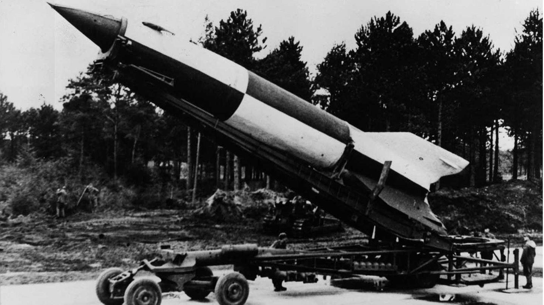 Unterlagen und Raketen wurden nach dem Krieg in die USA gebracht.