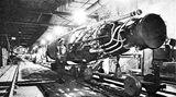 US-Militärs sicherten die unterirdischen Montagehallen in Thüringen.