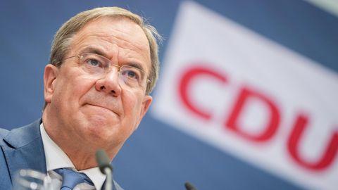 Armin Laschet, Unions-Kanzlerkandidat undCDU-Bundesvorsitzender