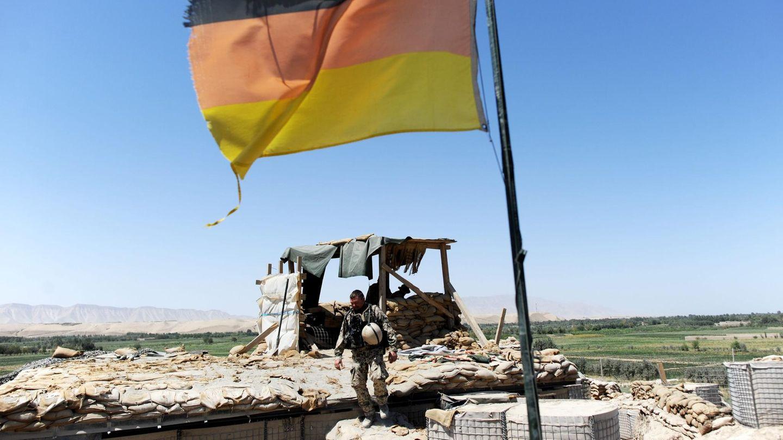 Bundeswehrsoldaten bei Kundus im Jahr 2011. Der Einsatz der deutschen Truppen in Afghanistan deuerte 20 Jahre und kostete 59 Männern das Leben.