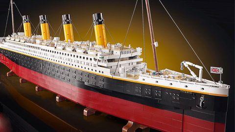 LEGO präsentiert sein bisher größtes Set: Die Titanic