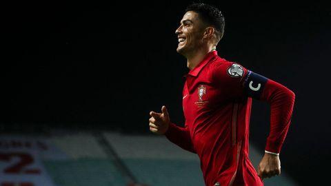 Christiano Ronaldo während eines Spiels