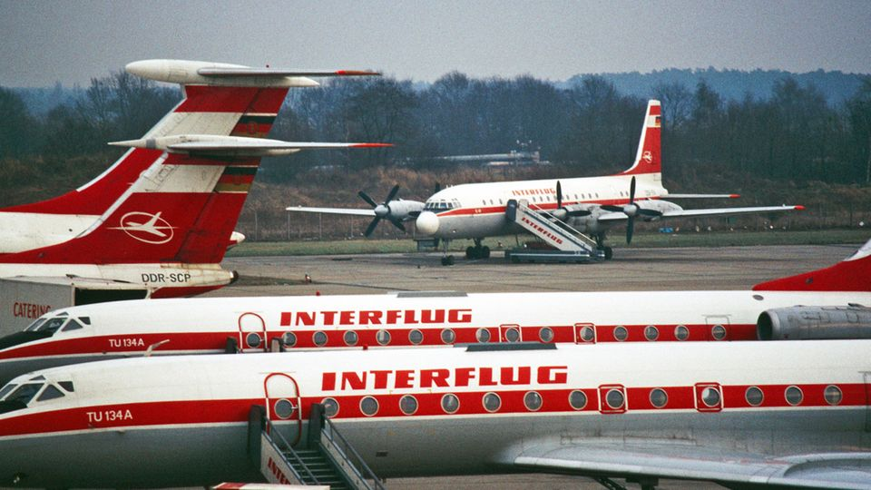 Flotte der Interflug