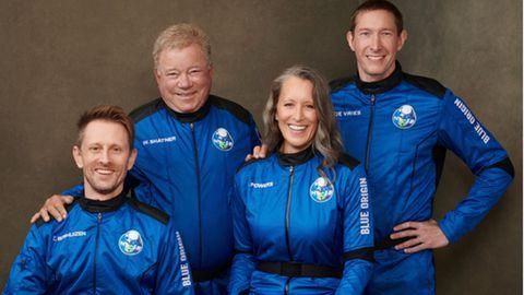 Shatner und seine All-Crew