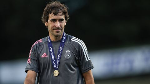 ONLY GERMANY Raul Real Madrid