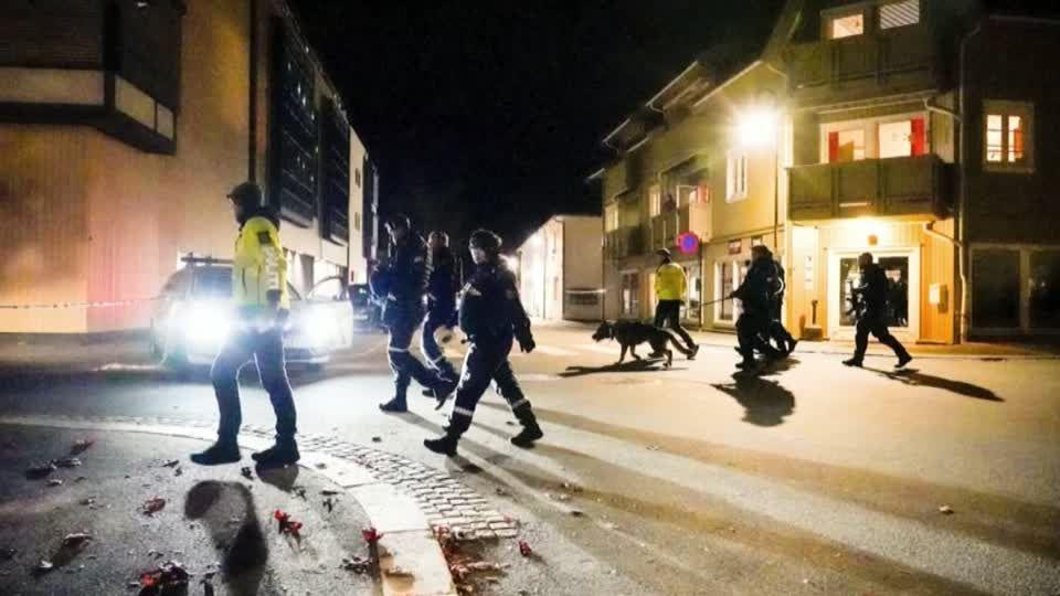 Gewalttat in Norwegen: Polizei bestätigt: Bogenschütze tötet mindestens fünf Menschen in Kongsberg nahe Oslo