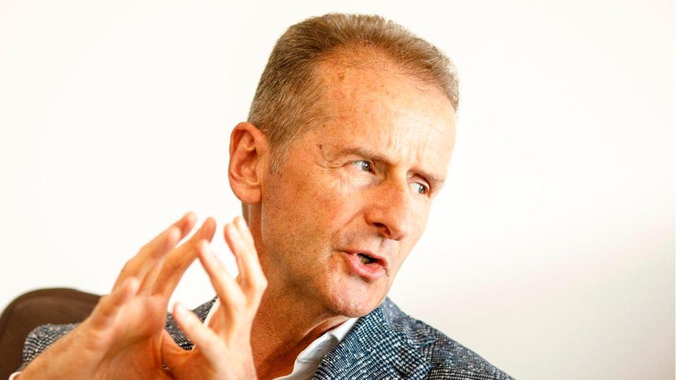 Herbert Diess, Vorsitzender des Vorstands der Volkswagen AG