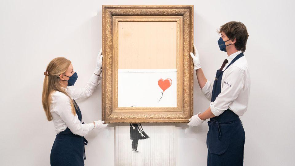 Banksy-Auktion könnte mehrere Millionen einbringen