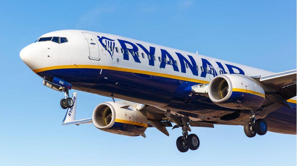 Boeing 737-800 von Ryanair