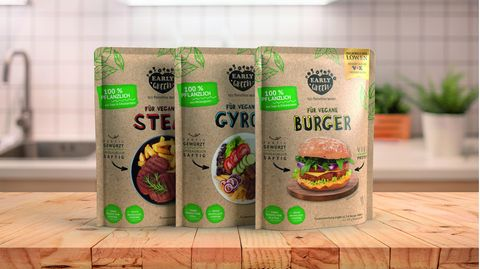 Fleischlose Steaks, Gyros und Burger-Patties