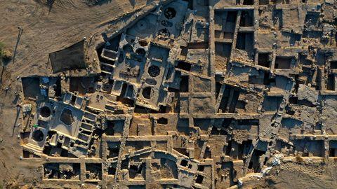"""Die 75.000 Quadratmetergroße Anlage lag im """"Industriegebiet"""" der Stadt"""
