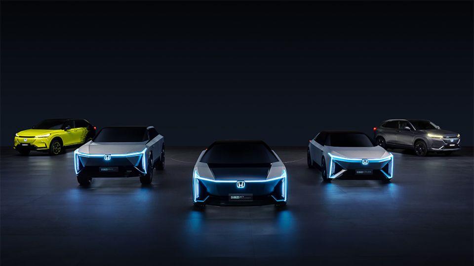 Honda will eine ganze Elektro-Auto-Serie auf den Markt bringen