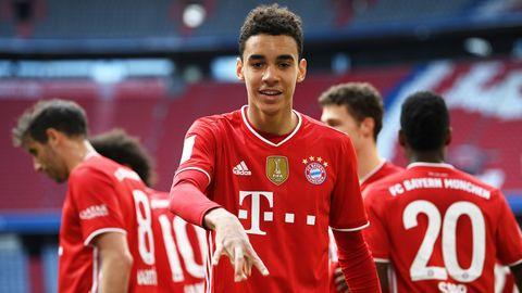 Jamal Musiala Bayern München Bundesliga 10042021