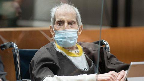 Robert Durst saß während der Urteilsverkündung regungslos in einem Rollstuhl