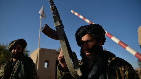 Ein Wachposten der radikal-islamistischen Taliban in Afghanistan