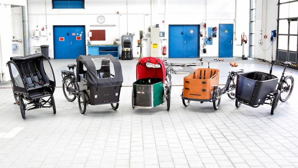 """ADAC testet fünf E-Lastenräder: nur zwei erhalten """"gut"""""""
