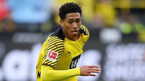 Jude Bellingham Dortmund 2021-22