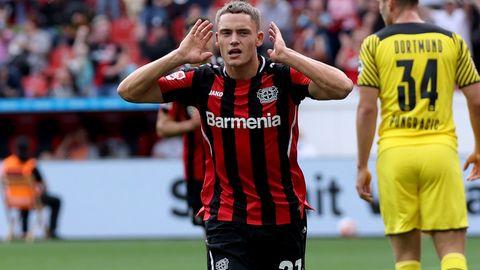 Florian Wirtz Bayer Leverkusen 2021