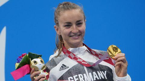 Elena Krawzow gewann in Tokyo Gold bei den Paralympics