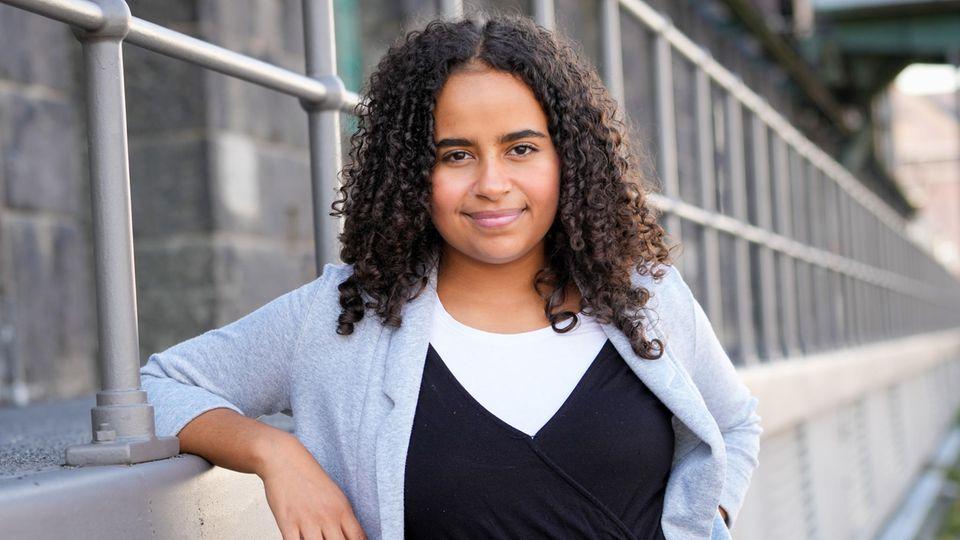 Sarah-Lee Heinrich, jetzt Co-Sprecherin der Grünen Jugend