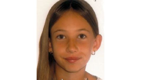 Elfjähriges Mädchen