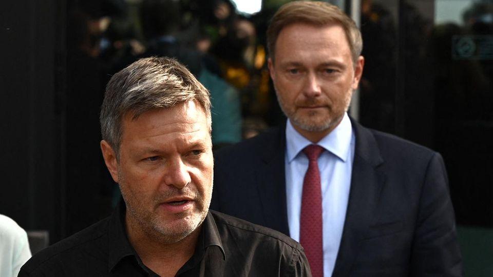 Robert Habeck und Christian Lindner