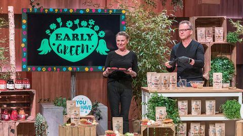"""Partner in Business and Love: die Early-Green-Gründer Nicole und Bernd Sell in der """"Höhle der Löwen"""""""