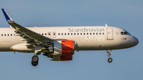 Airbus A320 von SAS